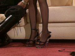 Fetisch für Stiefel und High Heels