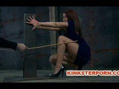 BDSM Erziehung mit dem Rohrstock